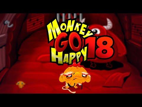"""Игра """"Счастливая Обезьянка 18"""" (Monkey GO Happy 18) - прохождение"""