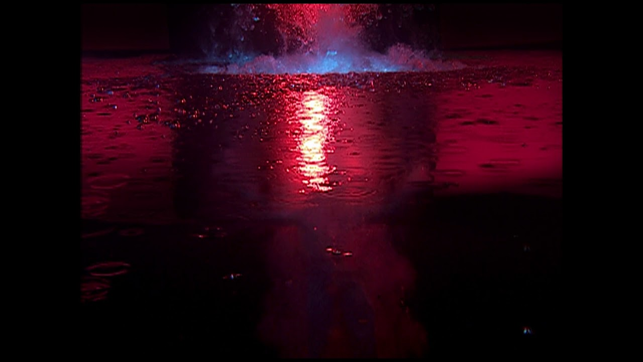 """Download Bill Viola, """"Fire Angel"""", panel 3 from Five Angels for the Millennium, 2001"""