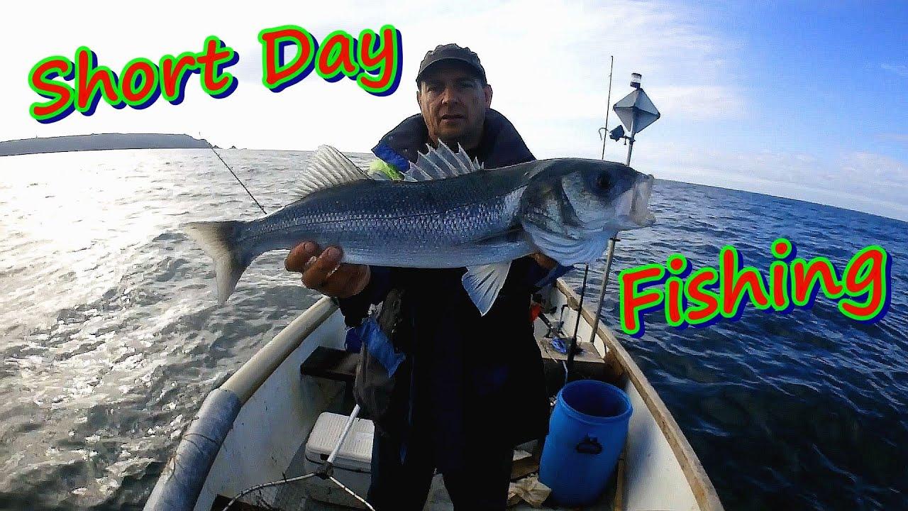 A Short Day Fishing For Mackerel & Bass