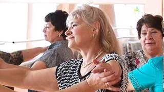 Бальные танцы пенсионеров