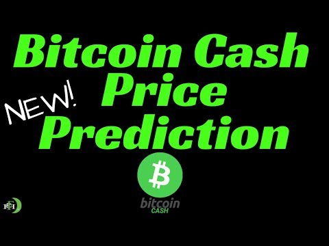 BITCOIN CASH PRICE PREDICTION (NEWEST AND GREATEST)