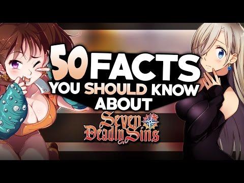 50 Facts About The Seven Deadly Sins You Probably Should Know (Nanatsu No Taizai)