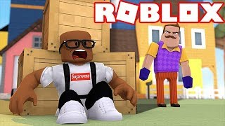 HELLO NEIGHBOR IN ROBLOX (ROBLOX ROLEPLAY)
