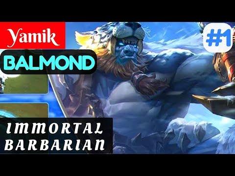 Immortal Barbarian [Rank 1 Balmond] | Yamik Balmond Gameplay and Build #1 Mobile Legends