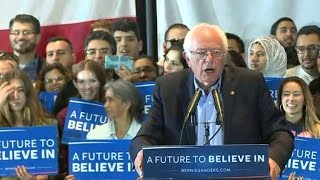 Bernie Sanders pushes ahead to California primary