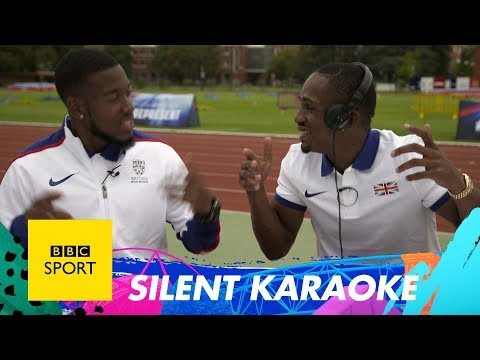 GB athletes test their voices with 'Silent Karaoke' - BBC Sport