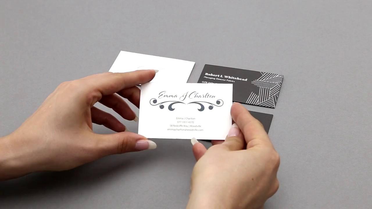 Exklusiv Veredelte Visitenkarten Hoch Tief Prägung Bei Printcarrier Com