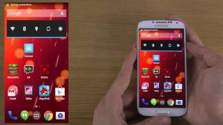 How To Take Samsung Galaxy S4 Android 4.4 KitKat Screen Shot / Capture / Print Screen