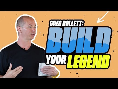 Greg Rollett: How to Build Your Legend, Getting What You Want, and Ambitious with Dan Kuschell