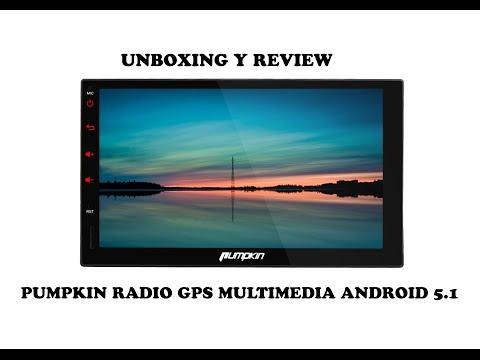 """UNBOXING y PRIMERAS IMPRESIONES RADIO , NAVEGADOR MULTIMEDIA GPS con android 5.1 de  7""""  1080p hd"""