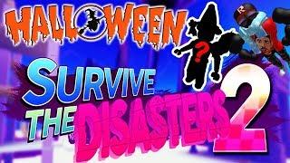ROBLOX: Survive The Disasters 2 + Skin de Halloween de Alexilla