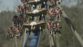 Wild Eagle off-ride b-roll footage HD Dollywood