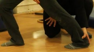 how to stretch out tight calf muscles stretching exercise