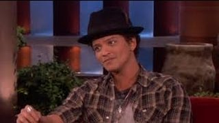 Bruno mars on ellen show (THE ELLEN SHOW-2013)