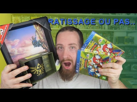 SOLDES EN LIVE -Avec du Sonic, Zelda et Goodies Gameboy !