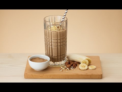 Healthy Banana Chocolate Smoothie | Oriflame Cosmetics