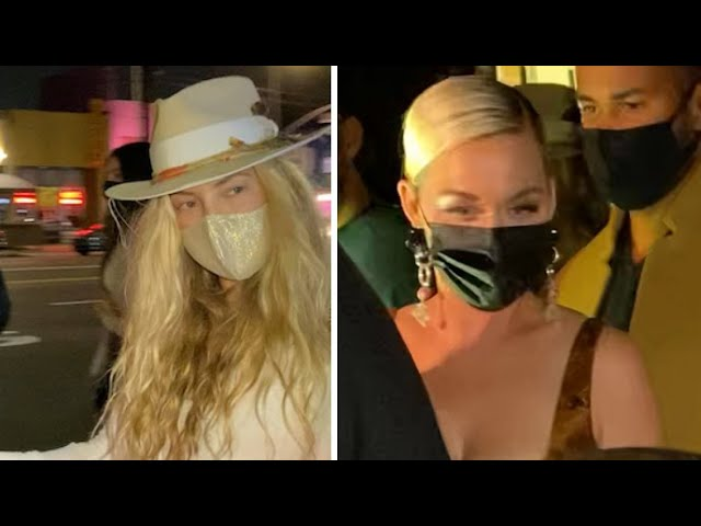 Kate Hudson And Katy Perry Turn Heads At Kendall Jenner's Mega-Bash