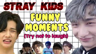 STRAY KIDS FUNNY MOMENTS (Try not to laugh challenge)