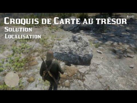 Carte Au Tresor Annesburg.Red Dead Redemption 2 Croquis De Carte Au Tresor Solution Localisation