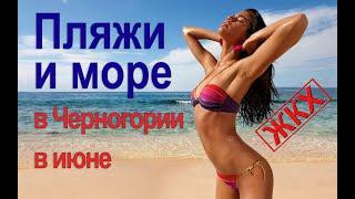Погода в Черногории - Пляжи и море в июне