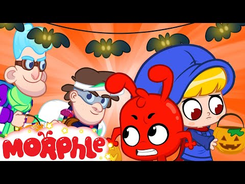 Halloween Candy Game  - Mila and Morphle   Cartoons for Kids   My Magic Pet Morphle