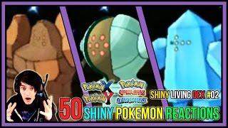 50 shiny pokemon live reactions   shiny living dex 51 100   pokemon x and y pokemon oras