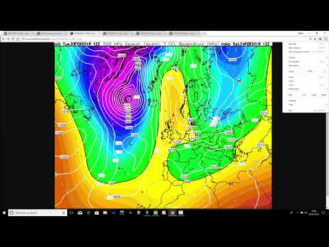 Tuesday Night Update - Cold And Snow Latest (20/02/18)