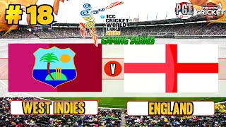 ICC Cricket World Cup 2015 (Gaming Series) - Pool B Match 18 West Indies v England