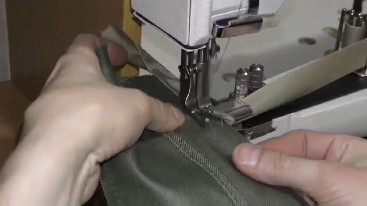 Окантовочная швейная машинка denim джинсы мужские что это