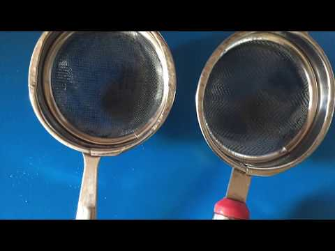 chai channi ko saaf karne ka  easy tarika | tea stainer  ko clean kare