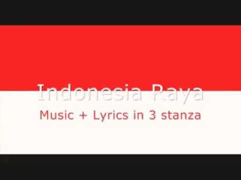 Lagu Indonesia Raya,fersi Inggris