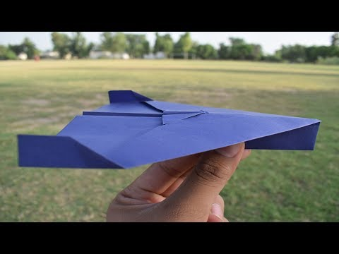 How to Make the World's Best Paper Airplanes - that FLIES FAR 1000 FEET