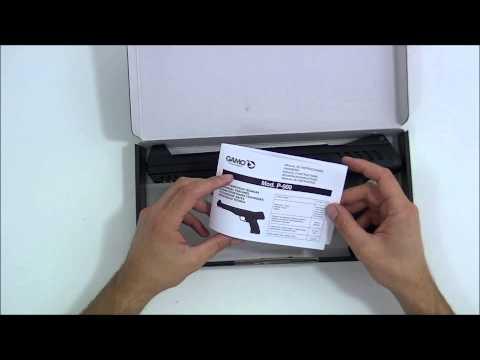 Pistola de Pressão Gamo P900   4 5mm