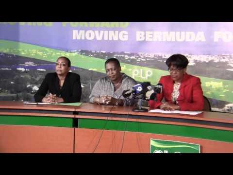 PLP Confirm Candidates Lovitta Foggo Patrice Minors Bermuda March 5 2012