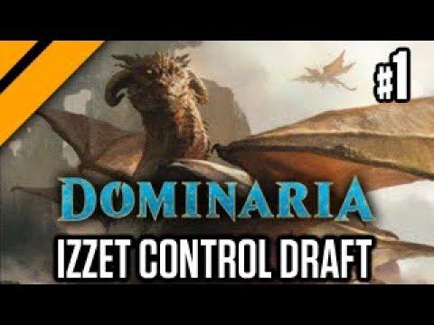 MTG Arena Dominaria Drafts - Izzet Control - P1 (sponsored)