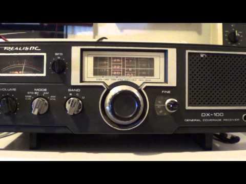 Radio Exterior espana on Realistic DX 100