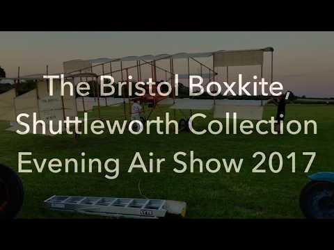 "How does ""The Bristol Boxkite"" Aircraft starts ?"