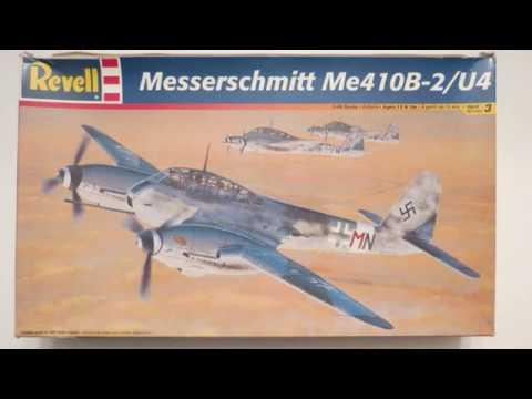 """Revell 1/48 Messerschmitt Me 410B-2/U4 """"Build Update #1"""" (4.4.17)"""