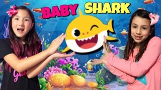 Baby Shark | Bebê Tubarão Dança | Kids Songs and Nursery Rhymes | Canções animais Songs for children