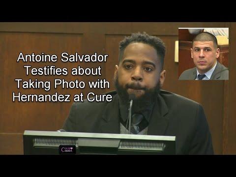 Aaron Hernandez Trial Day 22 Part 2 (Antoine Salvador Testifies) 04/03/17