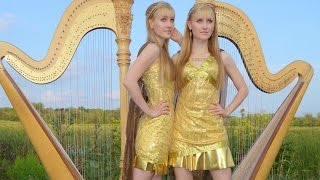 Now We Are Free  Gladiator Theme  - Harp Twins  Camille And Kennerly