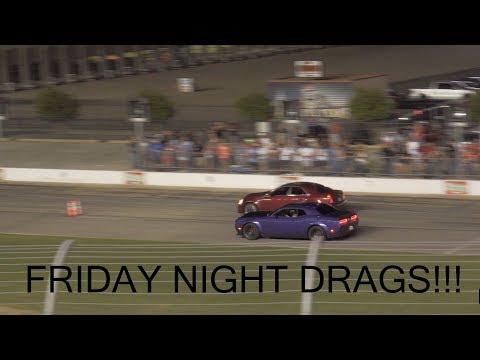 Friday Night Drags at Texas Motor Speedway!