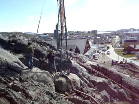 Extreme playground equipment, Nuuk, Greenland