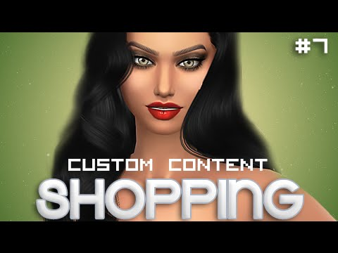 The Sims 4 | Let's Go CC SHOPPING # 7 | Poses, Hairs + More.
