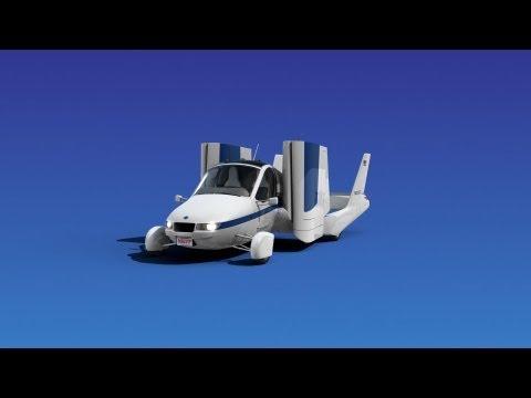 ► Flying Car - Terrafugia Transition - Animation