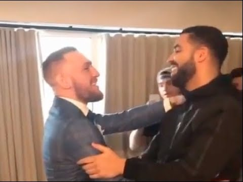 """Mystic Mac meets Drake in Toronto! Conor """"It's my city today!"""""""