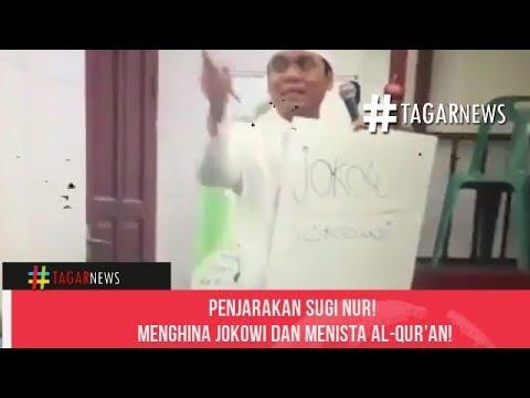 P3njarakan Sugi Nur! Mengh1na Jokowi Dan Men1sta Al Qur'an!