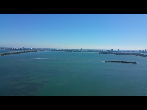 Breathtaking Views from Penthouse 1 at Bay House in Miami, Florida