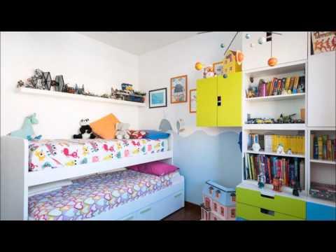 Интерьер маленькой детской комнаты: фото подборка