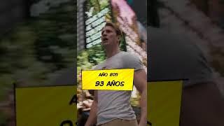 ¿Cuántos AÑOS tenía el CAPITÁN AMÉRICA al final de ENDGAME? (Cap Viejo) | #Short